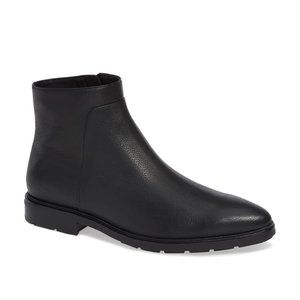 NEW Via Spiga Evanna Leather Water Resistant Boot